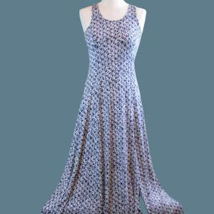 Michael Kors maxi dress high slit XXS sleeveless